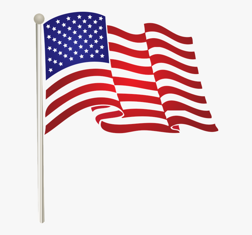 Flag United States American Waving Us American Flag Clip Art Png Transparent Png Kindpng