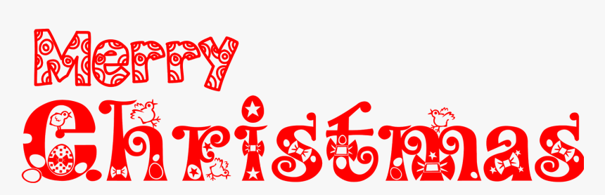 Merry Christmas Text Png Merry Christmas Words Transparent