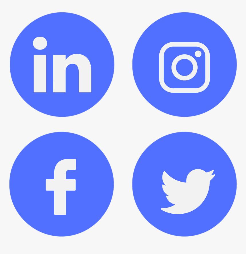 Facebook Instagram Linkedin Icon, HD Png Download, Free Download
