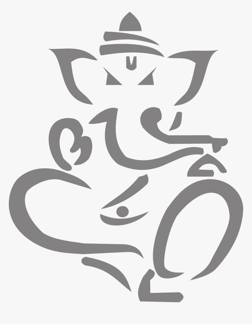 Lord Ganesha Clipart Png - Vector Ganesh Png, Transparent Png, Free Download