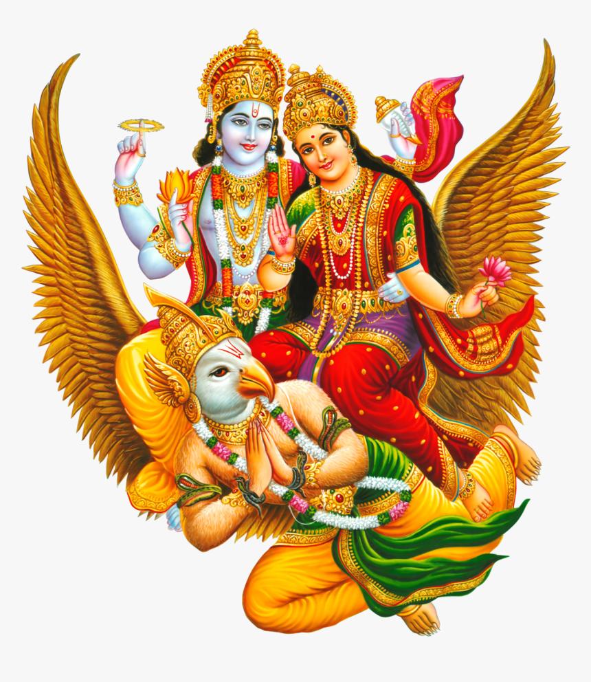 Transparent Gods Png - Lakshmi Narayan, Png Download, Free Download