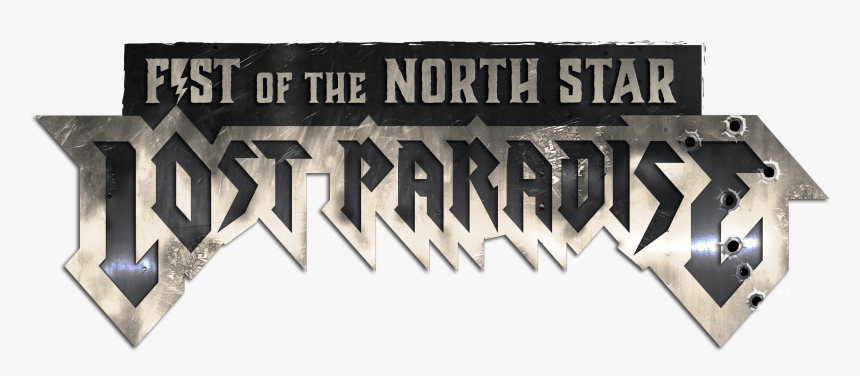 Fotnslp Logo Approved Whitetm - Fist Of The North Star Lost Paradise Png, Transparent Png, Free Download
