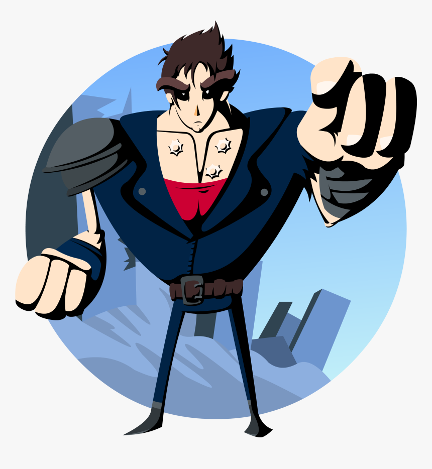 Fist Of The North Star - Cartoon, HD Png Download, Free Download
