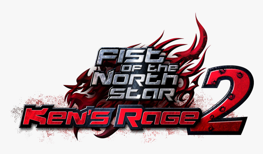 Fist Of The North Star Kens Rage 2 Logo, HD Png Download, Free Download