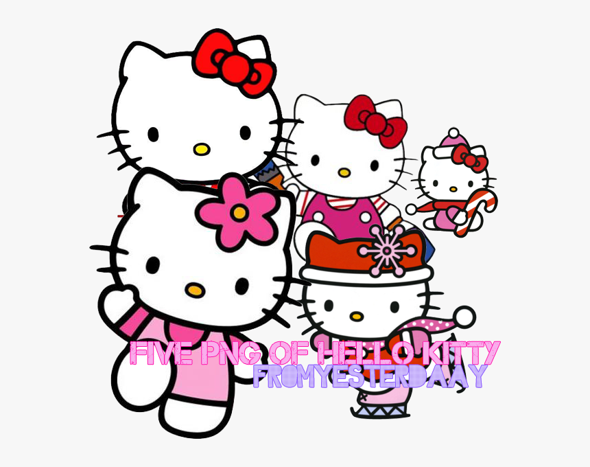 Transparent Kitty - Hello Kitty Birthday Background, HD Png Download, Free Download