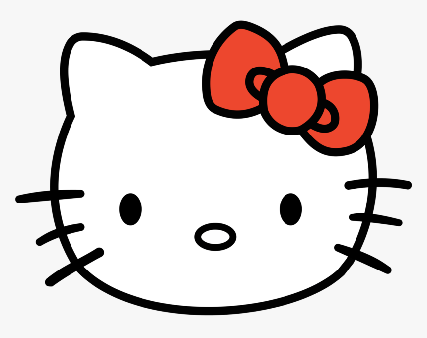 Hello Kittys Clipart Free Clip Art Images - Hello Kitty Head Png, Transparent Png, Free Download