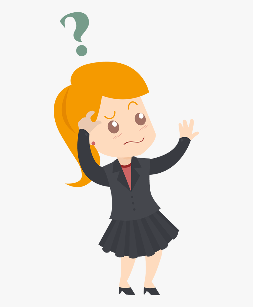 Clip Art Person Png Animated - Transparent Confused Person Png, Png Download, Free Download