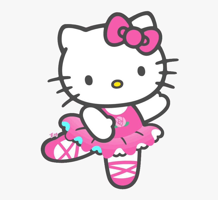 Group Png Library Free - Hello Kitty Ballet, Transparent Png, Free Download