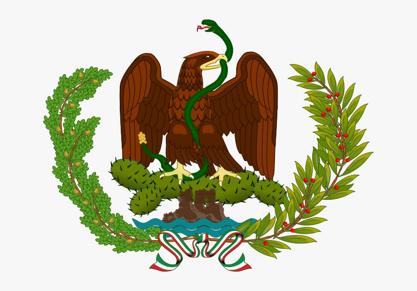 Escudo Nacional De Los Estados Unidos Mexicanos - Bandera Republicana De Mexico, HD Png Download, Free Download