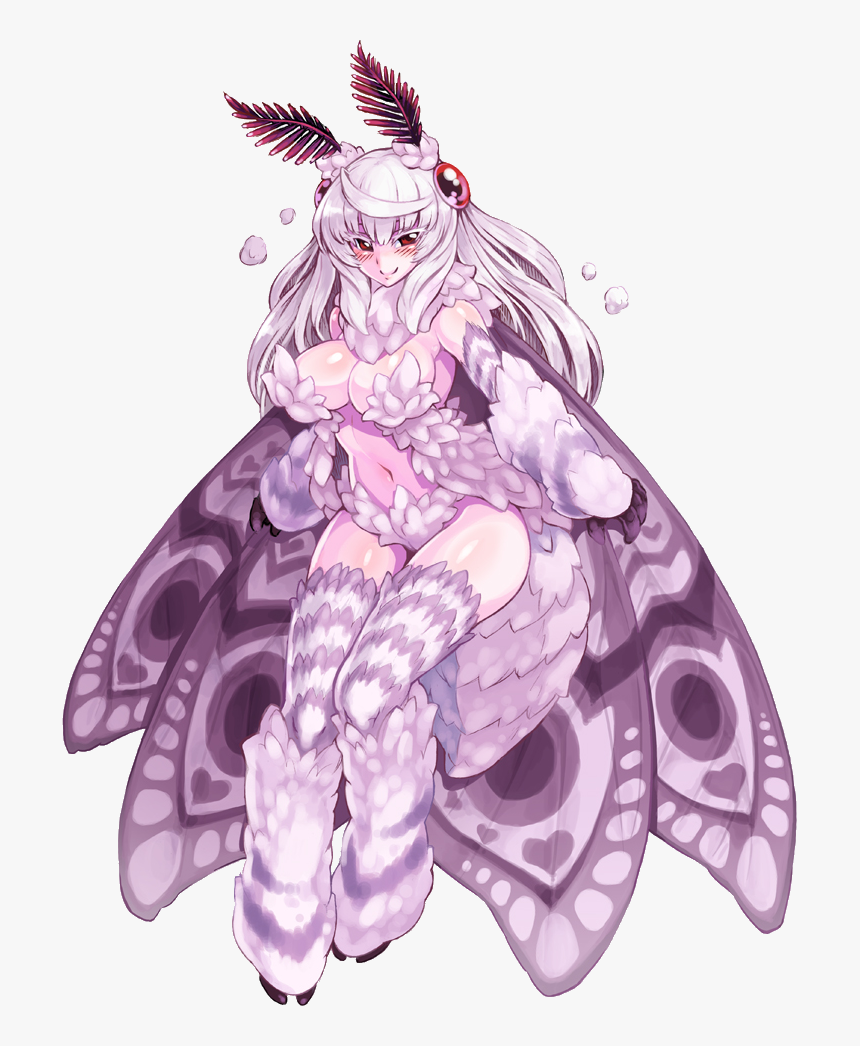 Violet Purple Lilac Fictional Character Mythical Creature - Moth Girl Lamp Meme, HD Png Download, Free Download