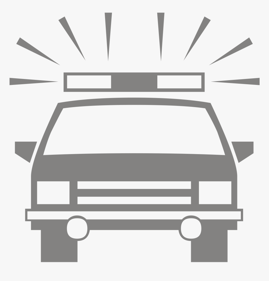 Tow Truck Silhouette Silhouette Police Car Clipart Hd Png Download Kindpng