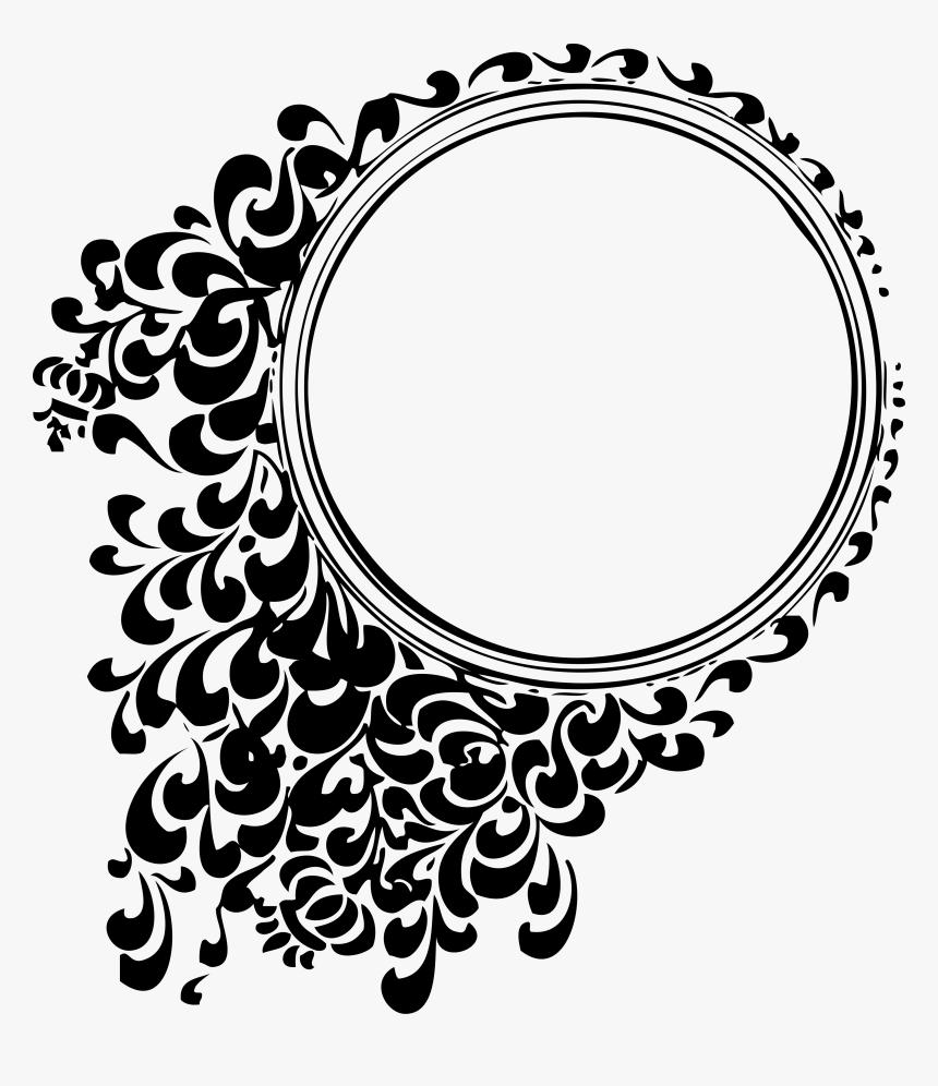 Circle Border Design Png, Transparent Png, Free Download