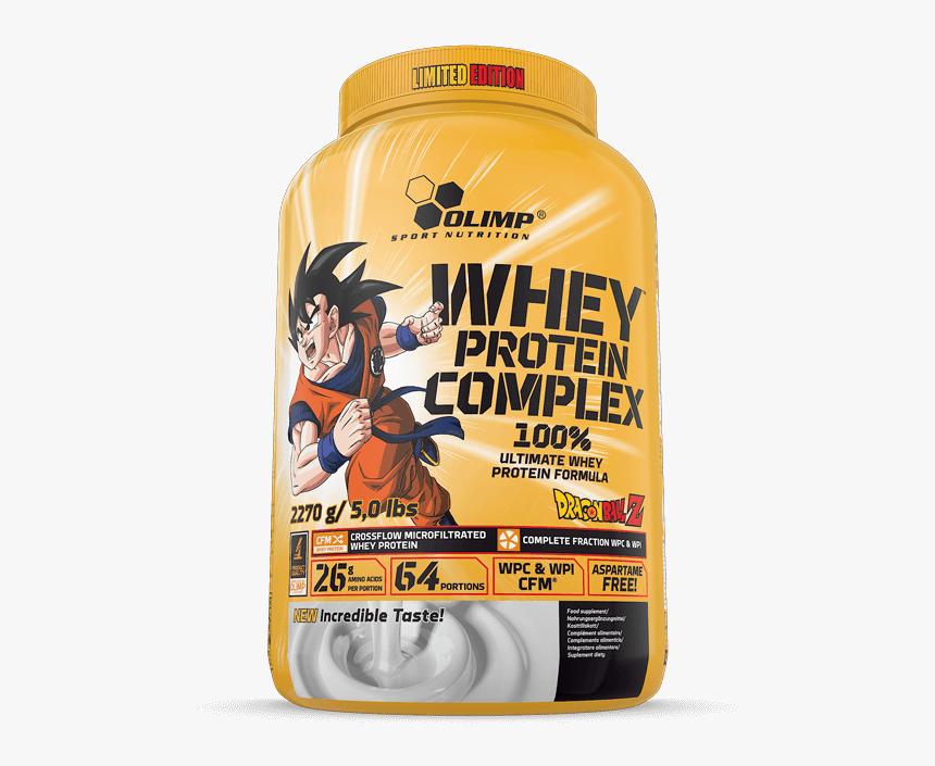 Whey Protein Complex 100% - Olimp Whey Protein Complex Dragon Ball, HD Png Download, Free Download