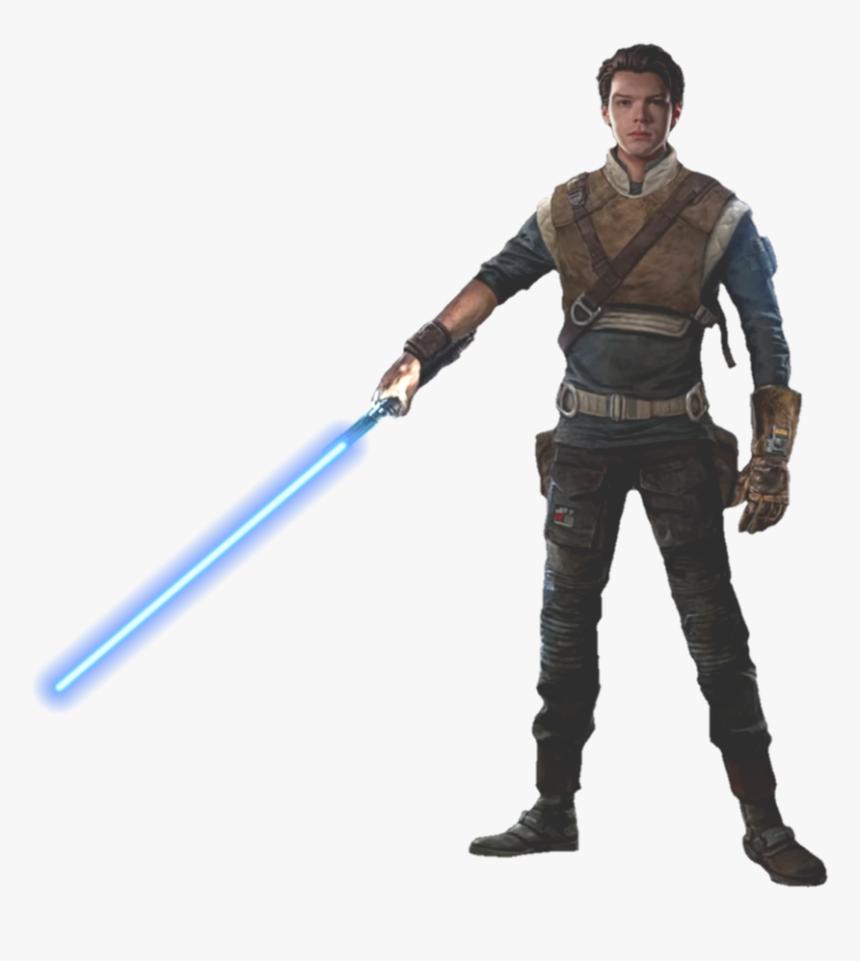 Star Wars Jedi Png - Cal Jedi Fallen Order, Transparent Png, Free Download