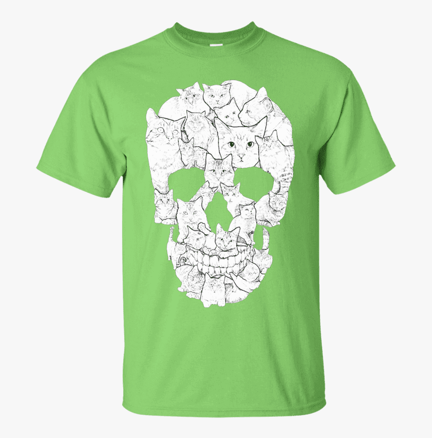"Skull Cat T-shirt""  Class= - T Shirt For Singer, HD Png Download, Free Download"
