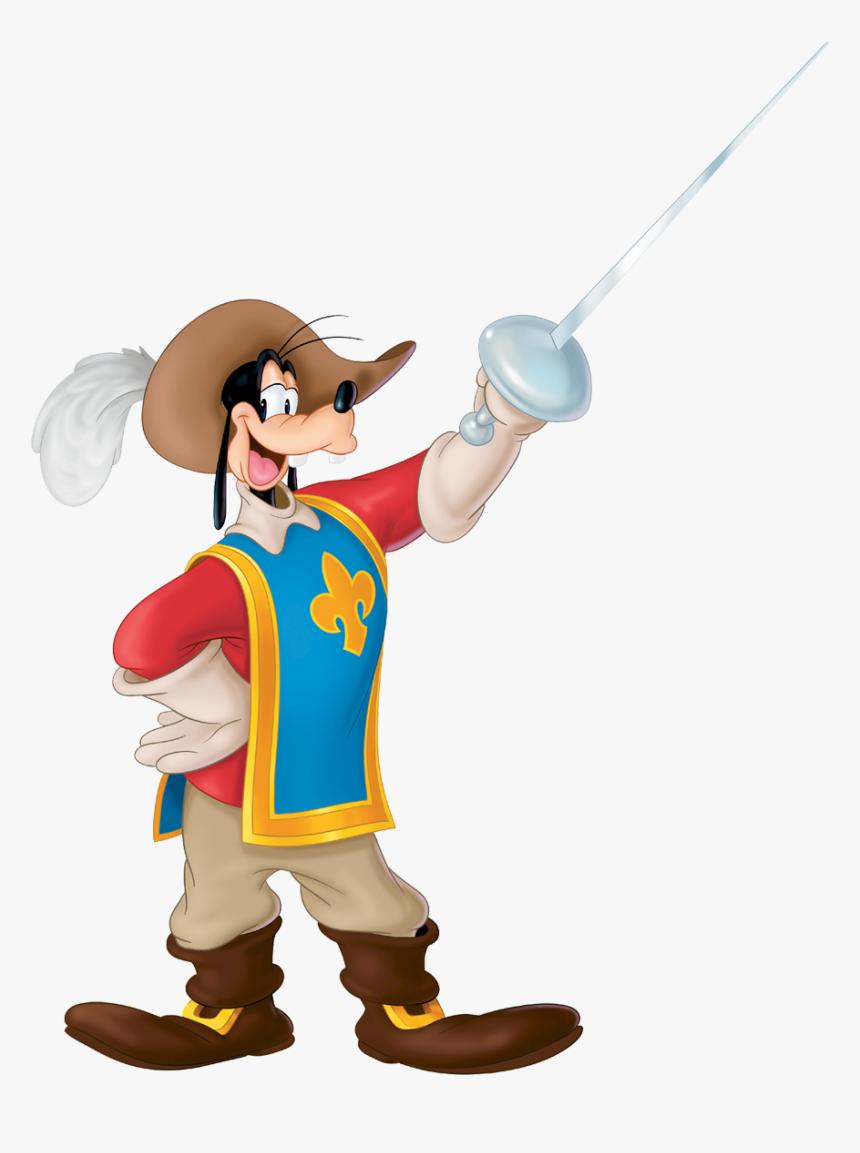 Goofy Hat Png - Mickey Donald Dingo Les Trois Mousquetaires Dessin, Transparent Png, Free Download