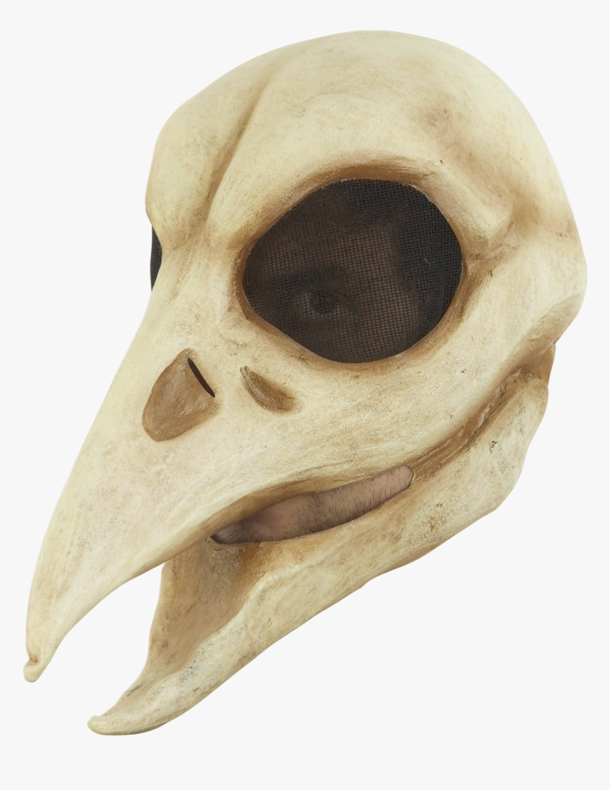 26771 - Raven Skull Mask, HD Png Download, Free Download
