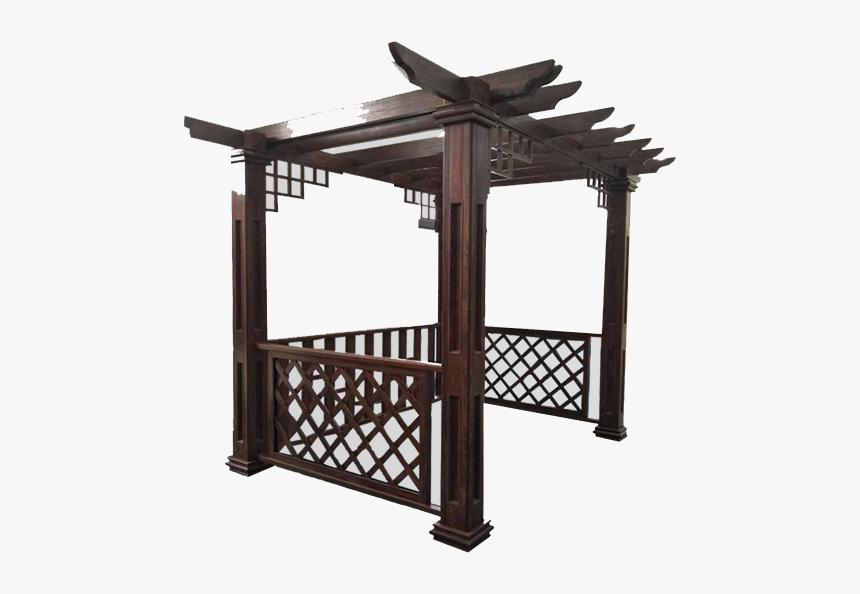 Pergola With Furniture Png, Transparent Png, Free Download