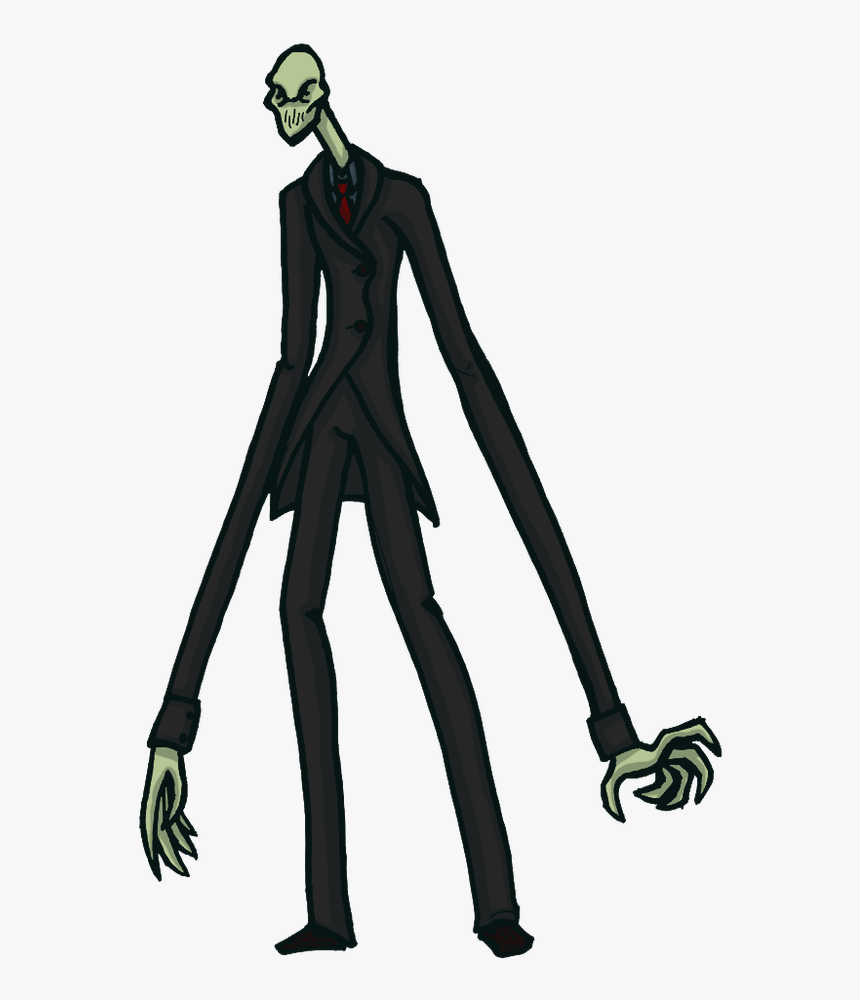 Slender Man Character, HD Png Download, Free Download