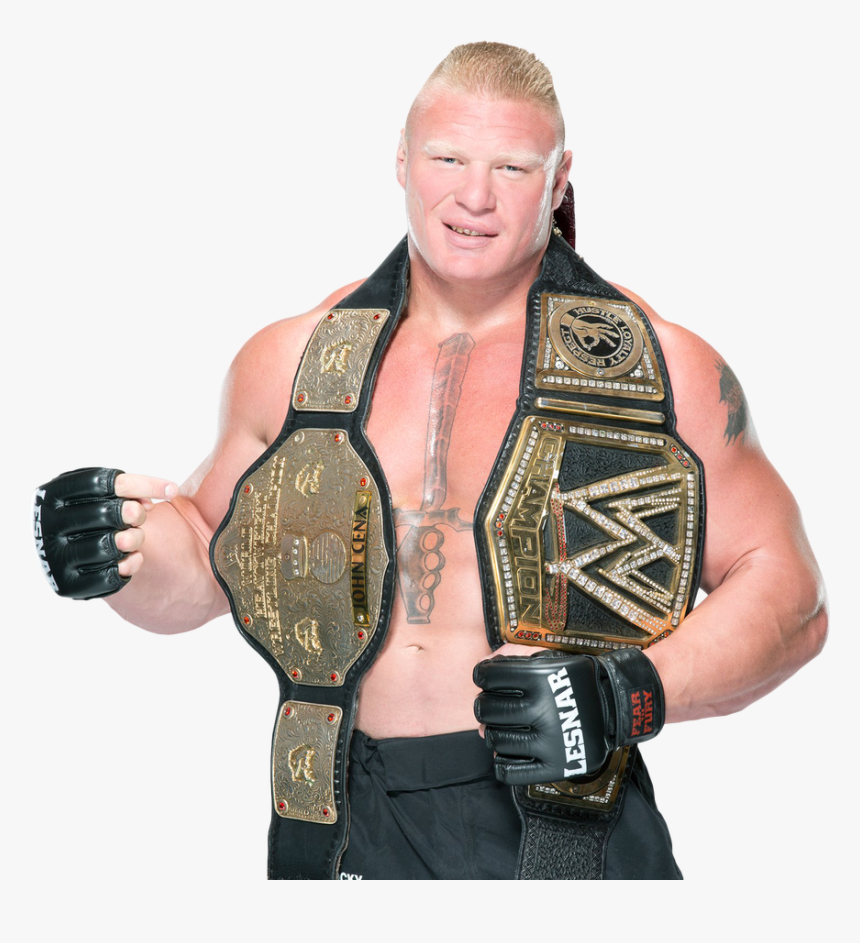 Wwe World Heavyweight Championship - Brock Lesnar Wwe World Heavyweight Champion, HD Png Download, Free Download