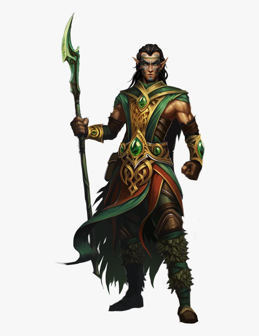 Loki Paper Model Druid Marvel Comics - Might And Magic Druid, HD Png Download, Free Download