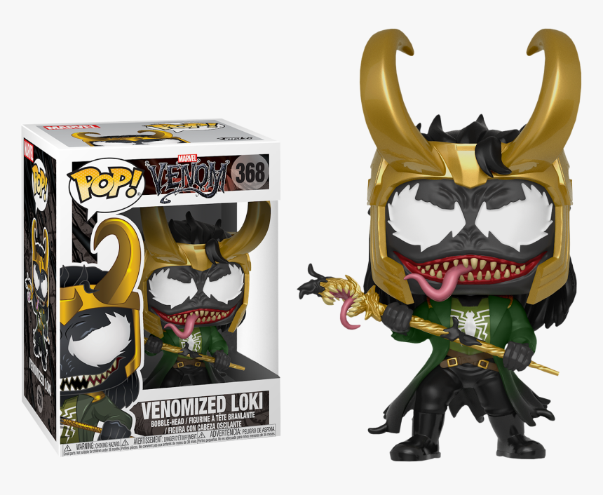 Funko Pop Venomized Loki, HD Png Download, Free Download