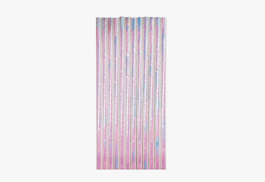 Iridescent Paper Straws - Drinking Straw, HD Png Download, Free Download