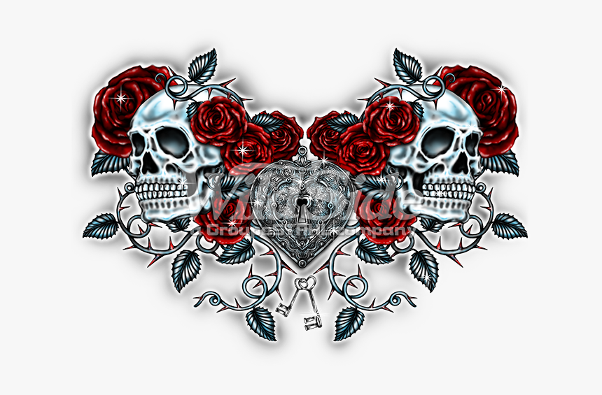Gothic Heart Png - Muscle T Shirt Roblox Tattoo, Transparent Png, Free Download