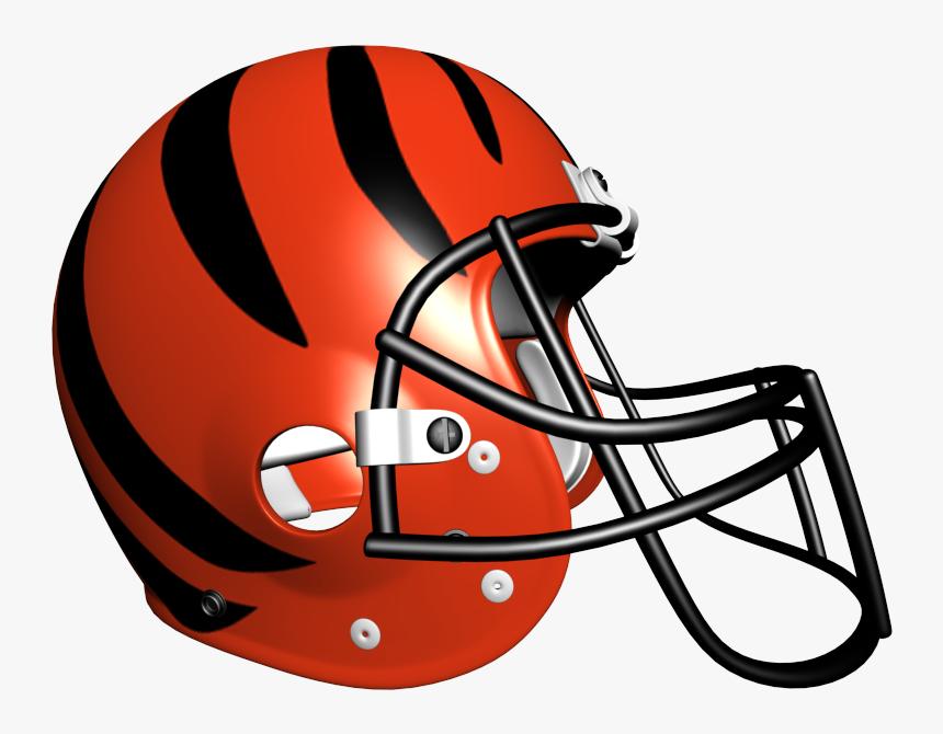Nfl Team Images - Bengals Nfl Football Helmet, HD Png Download, Free Download