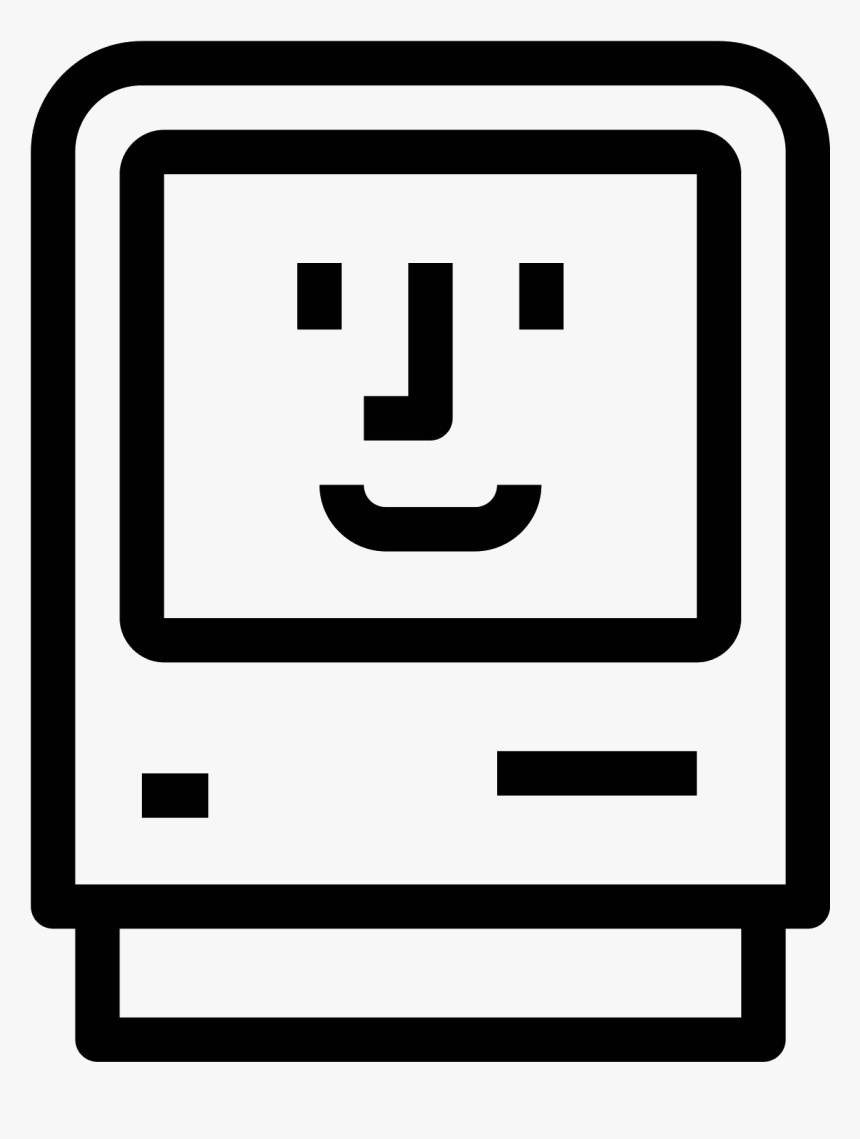 Happy Mac Png - Old Mac Icon Png, Transparent Png, Free Download