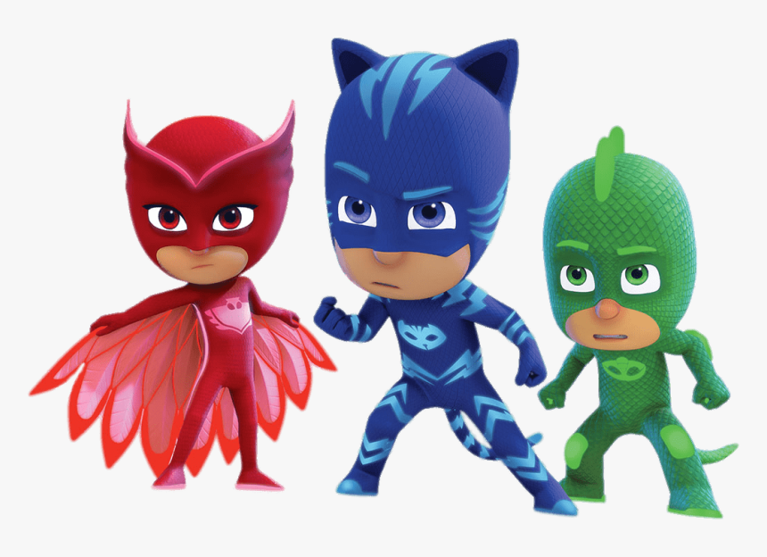 Pj Masks Determined Faces Pj Masks Svg Free Hd Png Download Kindpng