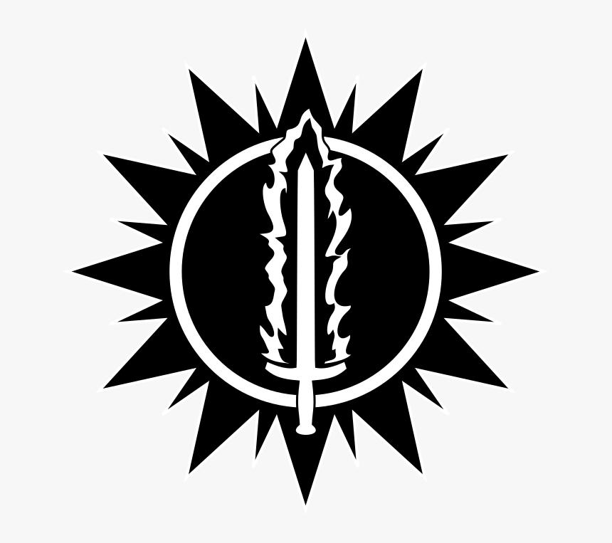 Transparent Flaming Sword Png - Age Of Sigmar Order Symbol, Png Download, Free Download