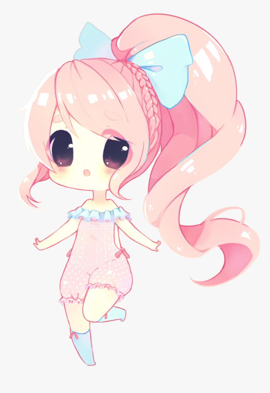 Cute Anime Girl Drawing - Anime Animal Girl Drawings, HD Png Download, Free Download