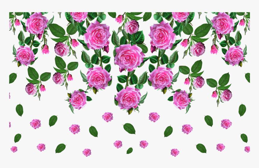 Transparent Floral Pattern Png - Rose Flower Images Png, Png Download, Free Download