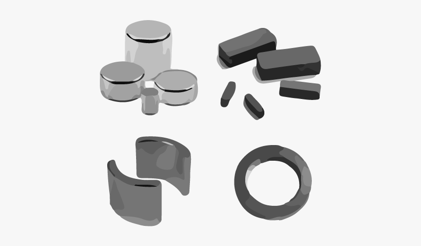 Magnetic Materials Magnet Production Experts Usa - Rectangular Magnets, HD Png Download, Free Download