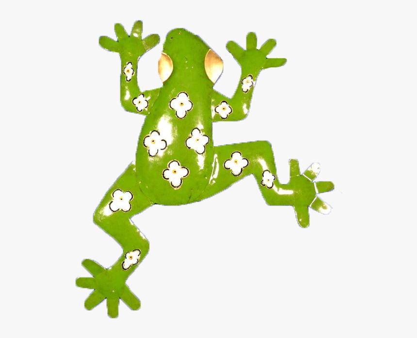 "Metal Art Green Frog 20"" - Shrub Frog, HD Png Download, Free Download"