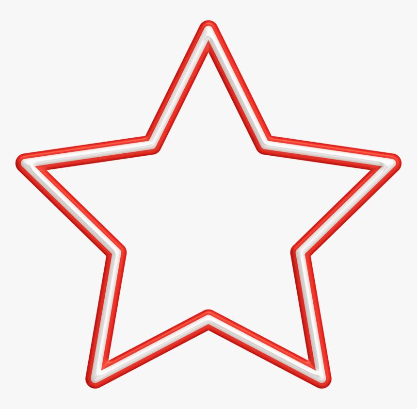 White Outline Star Png Clipart , Png Download - Clip Art Outline Of Trophy, Transparent Png, Free Download