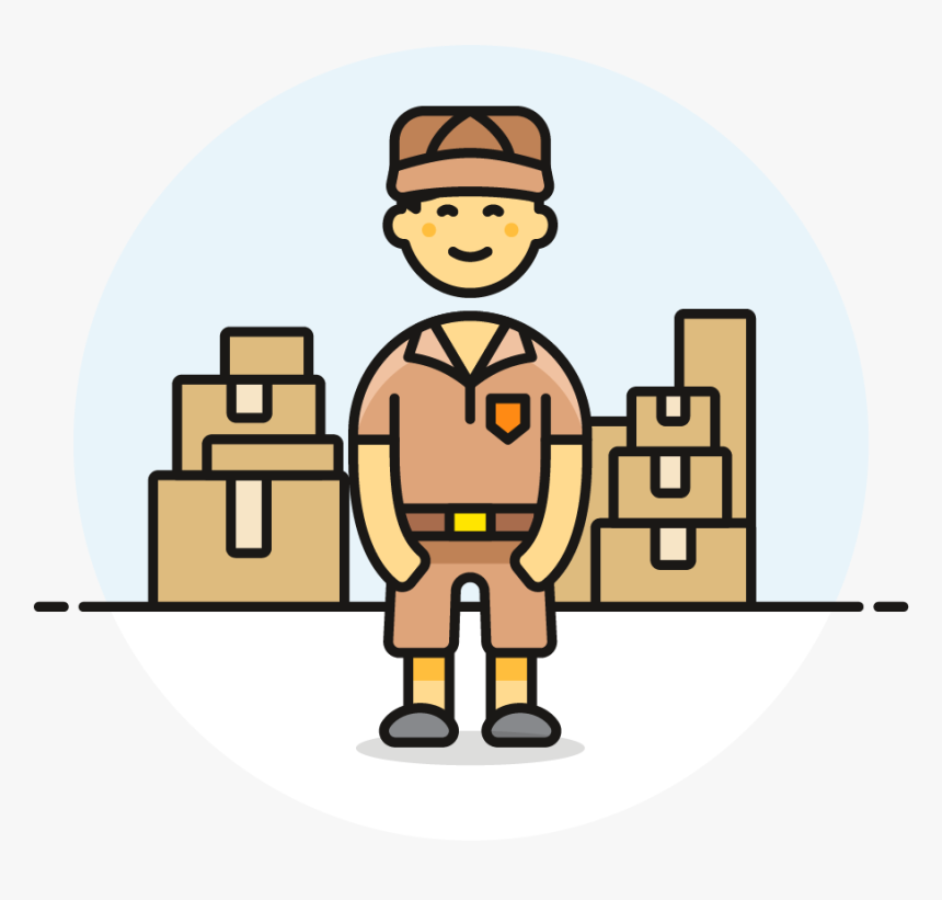 Png Delivery Truck Icon, Transparent Png, Free Download