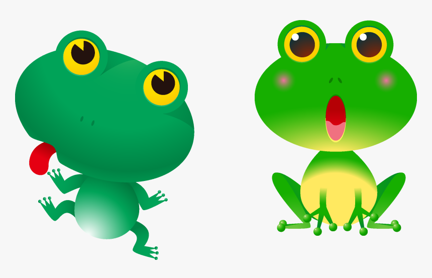 Tree Frogs Clipart Royalty - Cartoon Red Eyed Tree Frog Clipart, HD Png Download, Free Download