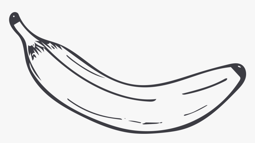 Happy Smile Banana. Outline Icon. Black And White Colors Royalty Free  Cliparts, Vectors, And Stock Illustration. Image 53067331.