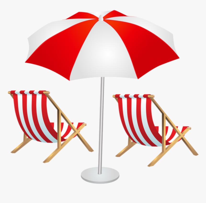 Beach Umbrella Png Lounge Chair