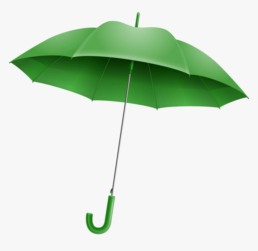 Green Umbrella Png Clipart Image - Green Umbrella Png, Transparent Png, Free Download