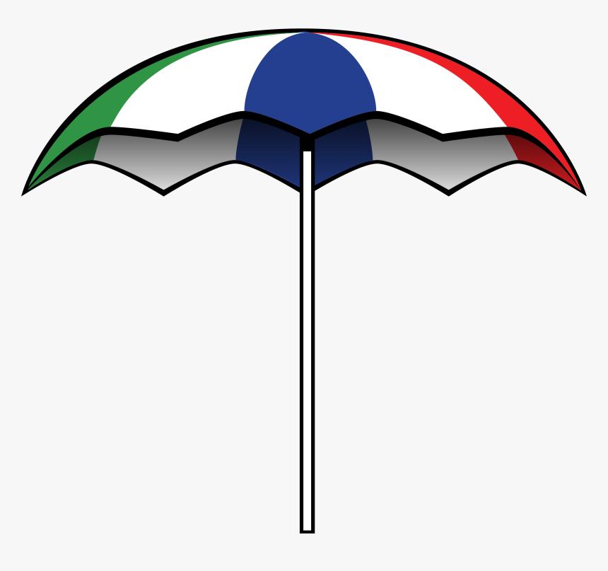 Transparent Beach Vector Png - Big Umbrella Clip Art, Png Download, Free Download