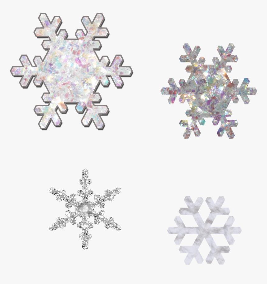 Border Snowflake Png - Snowflake Matching Worksheets, Transparent Png, Free Download