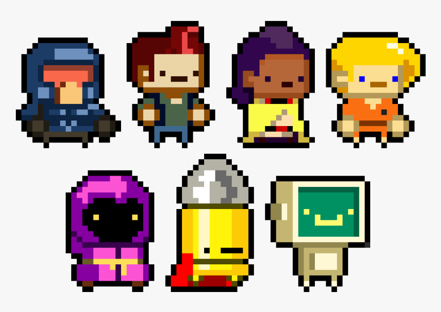 Enter The Gungeon - Enter The Gungeon Pixel Art, HD Png Download, Free Download