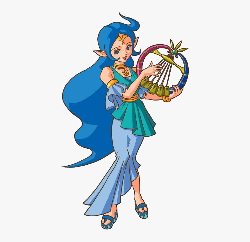 Zelda Oracle Of Ages Nayru, HD Png Download, Free Download