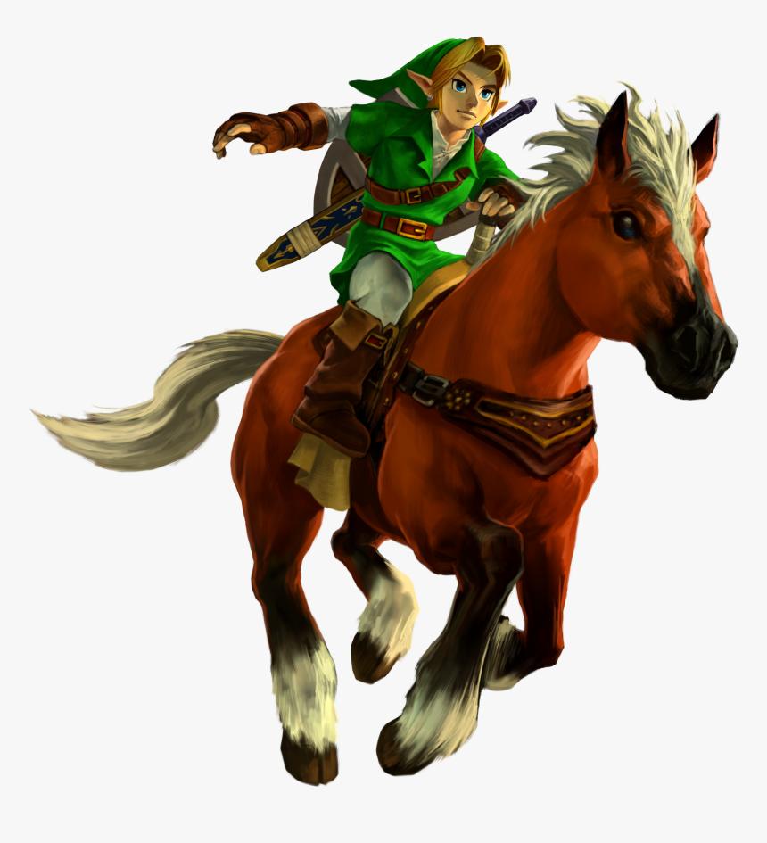 Zelda Ocarina Of Time Png - Link Legend Of Zelda Ocarina Of Time 3d, Transparent Png, Free Download