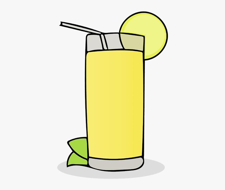Lemonade, Beverage, Citrus, Cold, Drink, Fruit, Juice - Lemon Juice Clip Art, HD Png Download, Free Download