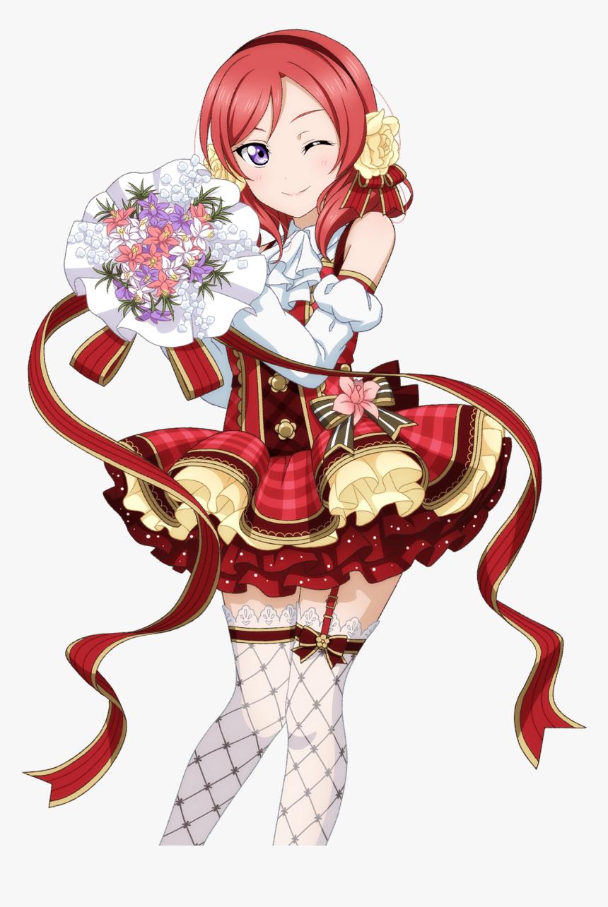 Transparent Love Live Nozomi Png - Love Live Cards Flower Bouquet, Png Download, Free Download