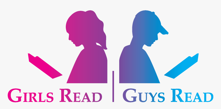Guys Read Book Image Girl Reading - Girls Reading Books Png Hd, Transparent Png, Free Download